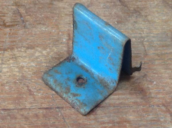 Original Tri-ang / Triang Large pressed steel Double decker drivers seat Blue [ price is per drivers seat ]